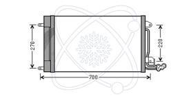 ElectroAuto 30A0028 - CONDENSADOR SEAT IBIZA SE250 C/FILT
