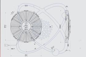 ElectroAuto 32C0004 - ELECTROVENTILADOR(12V)SPAL ESTANDAR