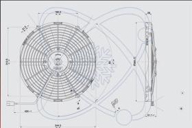 ElectroAuto 32C0006 - ELECTROVENTILADOR(12V)SPAL ESTANDAR