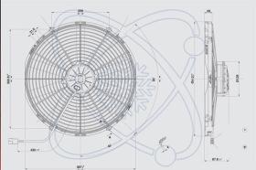 ElectroAuto 32C0008 - ELECTROVENTILADOR(12V)SPAL ESTANDAR