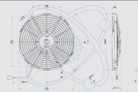 ElectroAuto 32C0034 - ELECTROVENTILADOR(24V)SPAL ESTANDAR