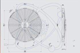 ElectroAuto 32C0036 - ELECTROVENTILADOR(24V)SPAL ESTANDAR