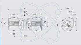 ElectroAuto 41D0002 - TURBINA SPAL ESTANDAR(12V)