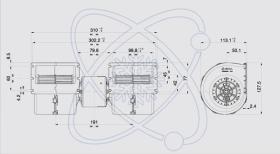 ElectroAuto 41D0008 - TURBINA SPAL ESTANDAR(12V)