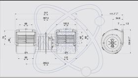 ElectroAuto 41D0014 - TURBINA SPAL ESTANDAR(24V)