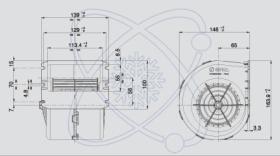ElectroAuto 41E0002 - TURBINA SPAL ESTANDAR(12V)