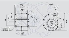 ElectroAuto 41E0004 - TURBINA SPAL ESTANDAR(12V)