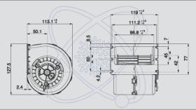 ElectroAuto 41E0005 - TURBINA SPAL ESTANDAR(24V)