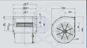 ElectroAuto 41E0007 - TURBINA SPAL ESTANDAR(12V)